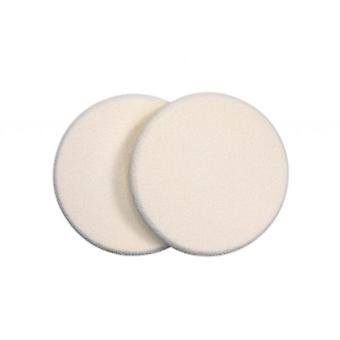Qvs 2 round Sponges Makeup (Woman , Makeup , Brushes)