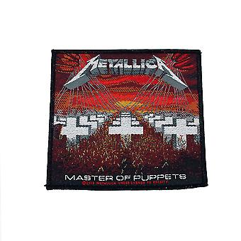 Metallica Master Of Puppets Woven Patch