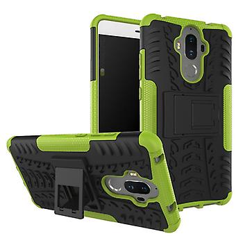 Hybrid case 2 piece SWL outdoor green for Huawei mate 9 Pocket sleeve cover protection