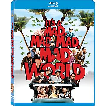 Det är en Mad Mad Mad Mad World [BLU-RAY] USA import
