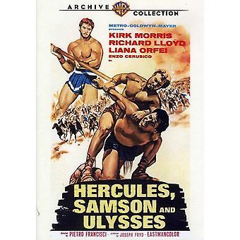 Hercules Samson & Ulysses (1965) [DVD] USA import