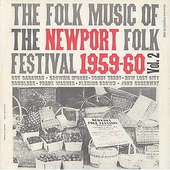 Muzyka ludowa na Newport Folk Festival - Vol. 2-folku, import USA na Newport Folk Festival [CD]