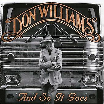 Don Williams - importación de Estados Unidos y así va [CD]