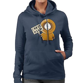 Carpe Diem Kenny South Park Damen Sweatshirt mit Kapuze