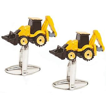 Zennor Digger Cufflinks - Yellow