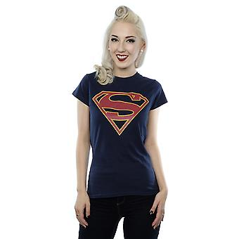 DC Comics Women's Supergirl Logo T-Shirt