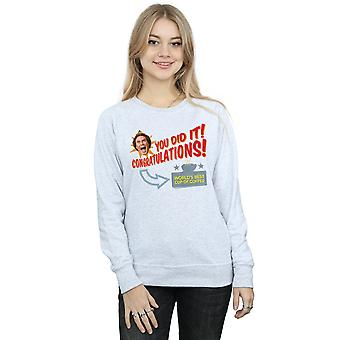 Elf Women's World's Best Coffee Sweatshirt