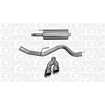 CORSA Performance Cat nuevo escape pulido 14837 ajustes: FORD F-150 2015-2015 K