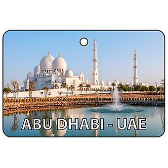Abbu Dhabi - UAE Car Air Freshener