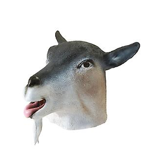 Goat Mask Rubber O/Head