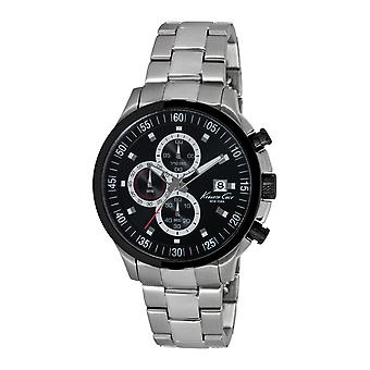 Kenneth Cole New York men's wrist watch analog stainless steel KC9361