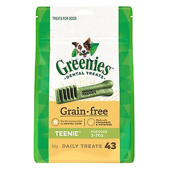 Greenies Teenie Grain Free Treat Pk 340g