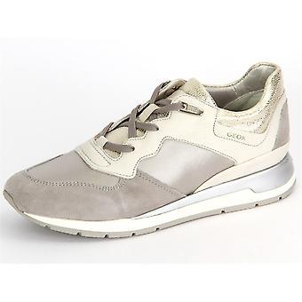 Geox Shahira D62N1B 0AK12C0856 Offwhite Grey Vitello Raso D62N1B0AK12C0856 universal  women shoes