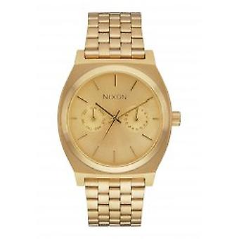 Nixon le Time Teller Deluxe All Gold (A922502)