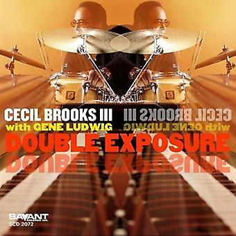 Cecil Brooks III - Double Exposure [CD] USA import