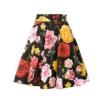 Dolce E Gabbana ladies F4BBGTFSEGJHNP70 multicolour cotton skirt