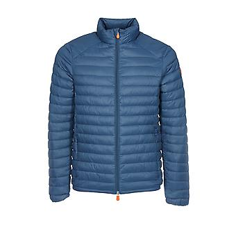 Save the duck men's D3243MGIGA600722 Blau polyamide Quilted Jacket