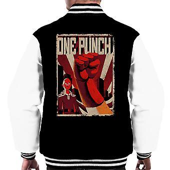 En Punch mann sovjetiske kunst menn Varsity jakke