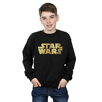 Star Wars Boys Gold Logo Sweatshirt
