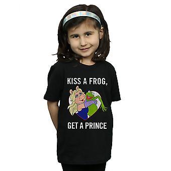 Disney Mädchen Muppets Kiss A Frog T-Shirt