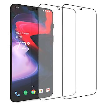 OnePlus 6 Glass Screen Protector (Twin Pack) - Clear