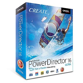 Cyberlink Power Director 16 Ultra - Video-Editoren (PC)