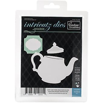 Couture Creations Enchanted Tea Party Die-Invitation 1.1