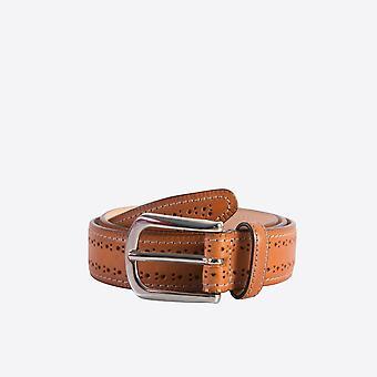 Fabio Giovanni Fasano Belt - High Quality Italian Brogue Leather Belt