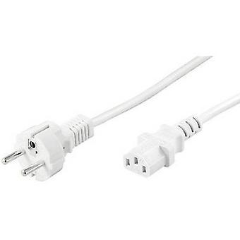 Goobay 96038 C13/C14 appliances Cable White 1.50 m