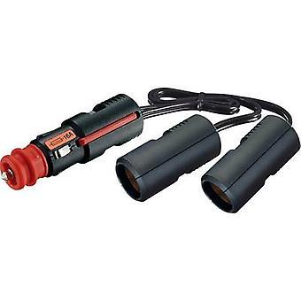 2x In-car 12V splitter No. of 12V connectors 2 x Max. load capacity 16 A ProCar 67889200