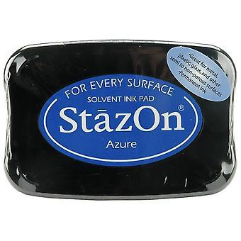 StazOn Solvent Ink Pad-Azure