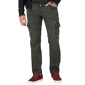 Time zone men's cargo pants regular Ben Green
