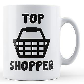 Dekoracyjne, pisania Top Shopping - kubek z nadrukiem