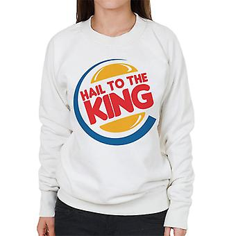 Hail To The King Army Of Darkness Women's Sweatshirt
