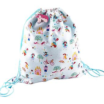 Jenter unicorn og feer snor kit bag