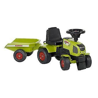 Falk Axos 310 Traktor mit Anhänger