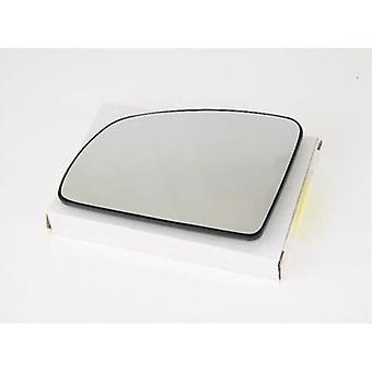 Left Passenger Side Mirror Glass (heated) & Holder for VAUXHALL MERIVA 2003-2010