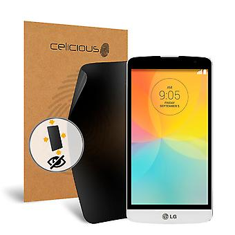 Celicious Privacy Plus 4-Way Anti-Spy Filter Screen Protector Film Compatible with LG L Bello