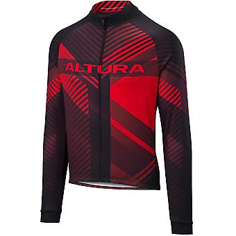 Altura Red-Black 2018 Team Long Sleeved Cycling Jersey