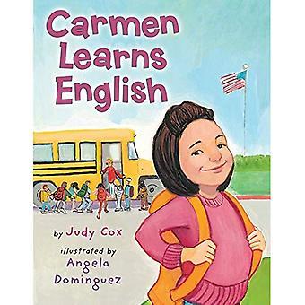 Carmen lär sig engelska