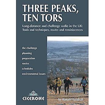 Trois pics, Ten Tors