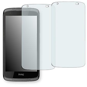 HTC desire 526 G dual SIM display protector - Golebo crystal clear protection film