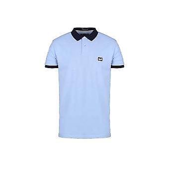 Weekend Offender Gibson Sky Blue Polo Shirt