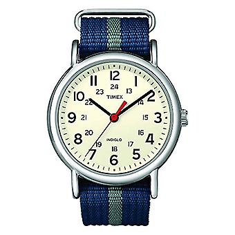 Timex Watch Analogueico quartz ladies with Nylon Strap T2N654