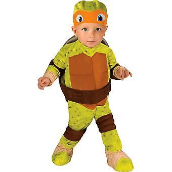 Traje de niño de TMNT Michelangelo
