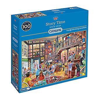 Gibsons Story Time Jigsaw Puzzle (1000 Pieces)