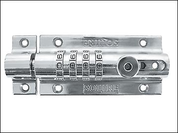 Henry Squire Combi 2 Recodeable Locking Bolt 120mm - Chrome