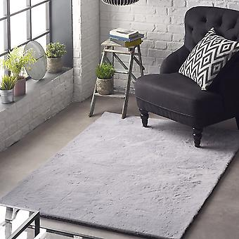 Lustrous Rugs In Silver