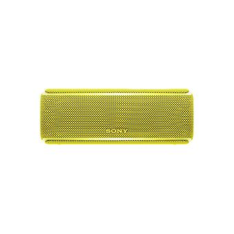 Sony SRS-XB21 Portable Wireless Waterproof Speaker with Extra Bass and 12-Hour Battery Life - Yellow