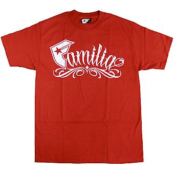 Famous Stars and Straps Familia T-shirt Red White